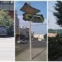 На Южном Урале сильный ветер обломал деревья, погнул дорожные знаки и унёс ребёнка на матрасе
