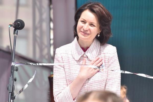 В «инстаграме» омского мэра Оксаны Фадиной всего 55 публикаций.