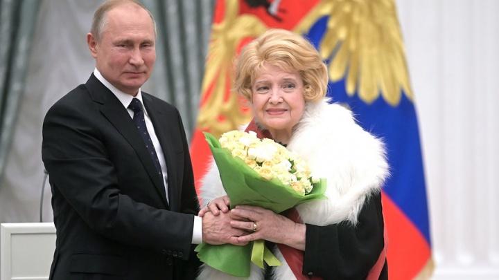Владимир Путин наградил орденом актрису из Ярославской области