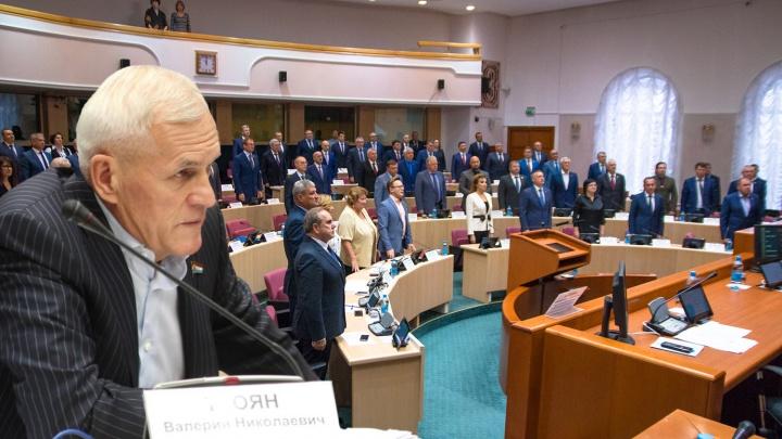 Из Самарской губернской думы ушёл политический «тяжеловес» Валерий Троян