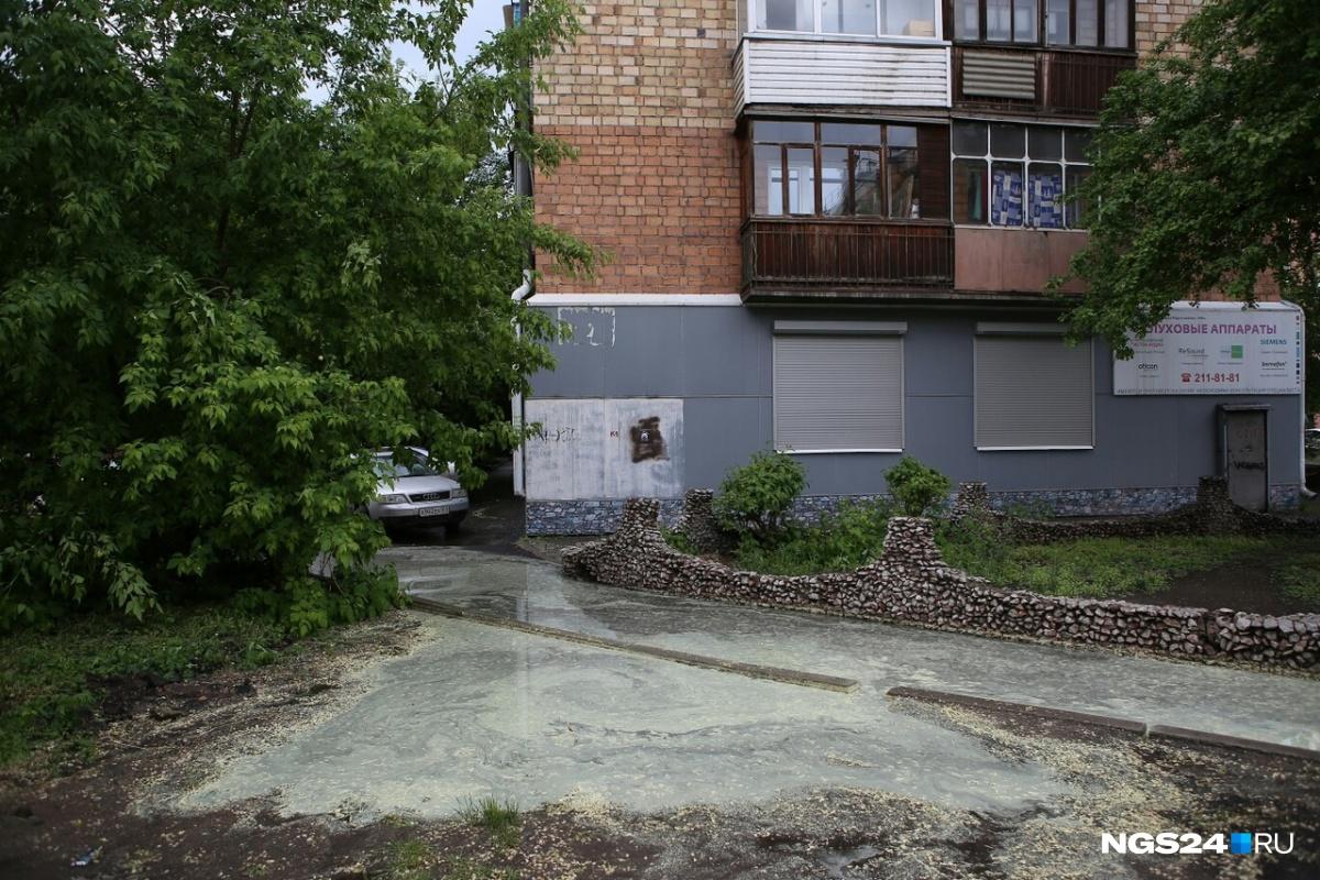 Бограда, 89 —со двора не выйти