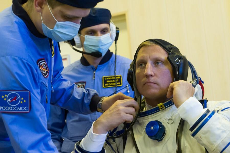Сергей Прокопьев поступил в отряд космонавтов ещё в 2010 году