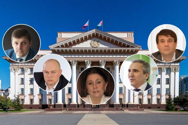 Новый глава региона займет кабинет в здании правительства