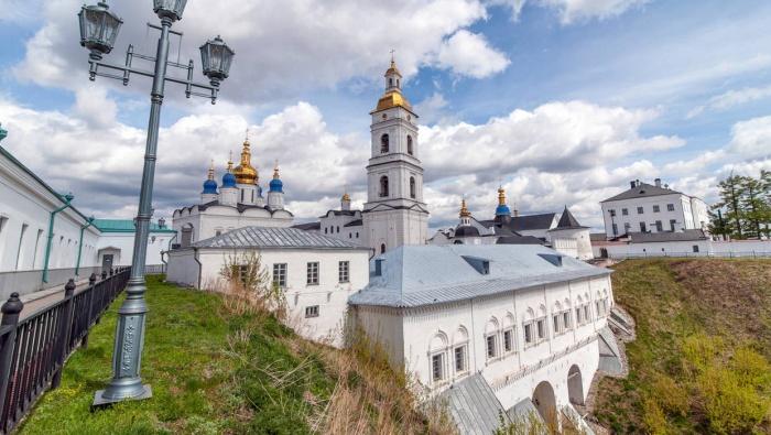 Тобольский кремль — единственный сохранившийся каменный кремль в Сибири
