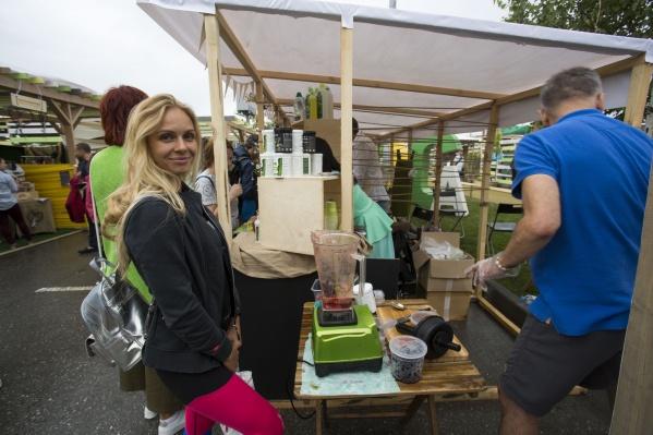 Экологическая тема оказалась популярной среди новосибирцев — на праздник пришли сотни людей