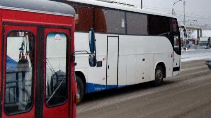 Закрыт маршрут «Красноярск – Шарыпово» с посадкой на остановке «Агропром»