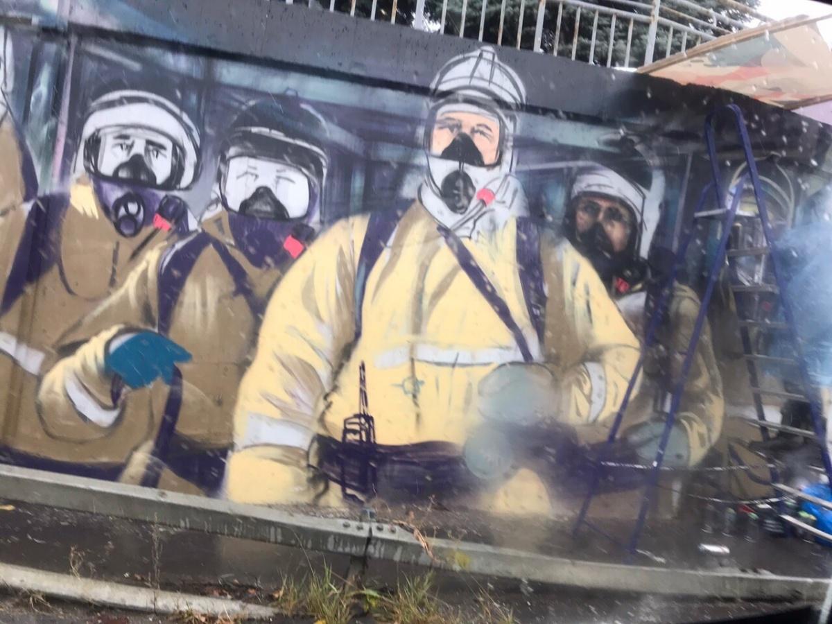 Надеемся, что это граффити проживет долго