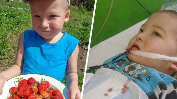«Таких было всего 40. Осталось 39»: мама умершего 8-летнего мальчика рассказала о его редкой болезни
