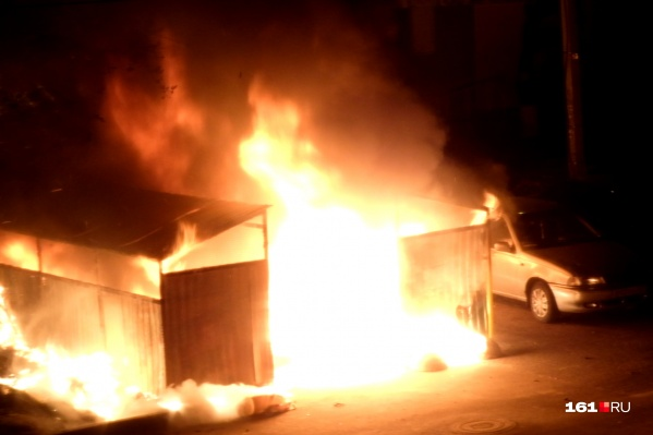 Пожар потушили в 2 часа ночи