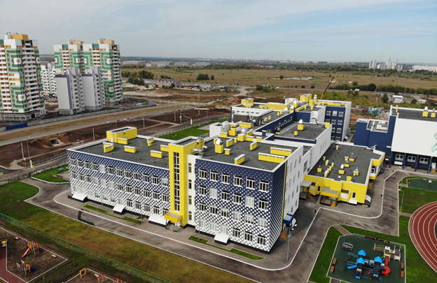 В Южном городе новый корпус школы примет 1500 учеников
