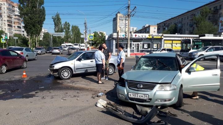 В Волгограде нашли виновника серьезной аварии на Первой Продольной