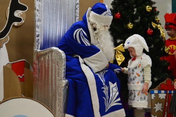 Что Дед Мороз принесет в мешке, дети узнают всего через шесть дней