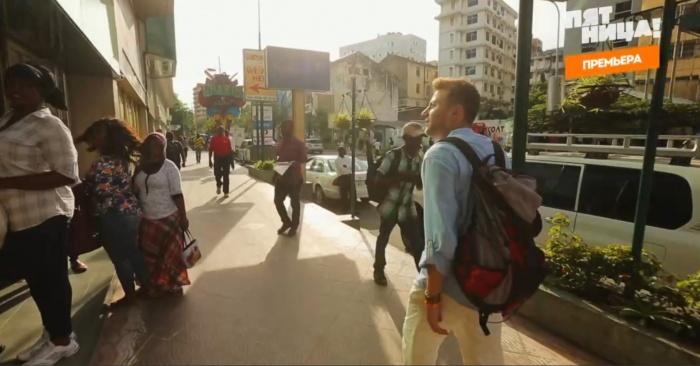 Антон Зайцев гулял по столице Танзании — городу Дар-эс-Салам