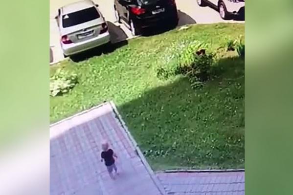 Выбежавшего из детсада мальчика заметили прохожие
