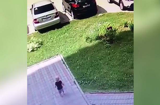 Прохожие поймали ребёнка, сбежавшего из частного детского сада