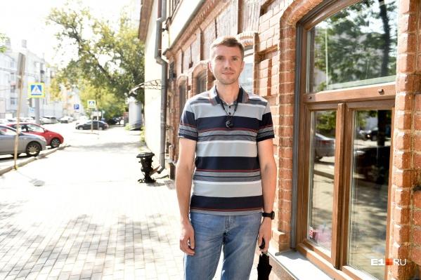 Сейчас Сергей весит 77 килограммов — на 35 меньше, чем два года назад