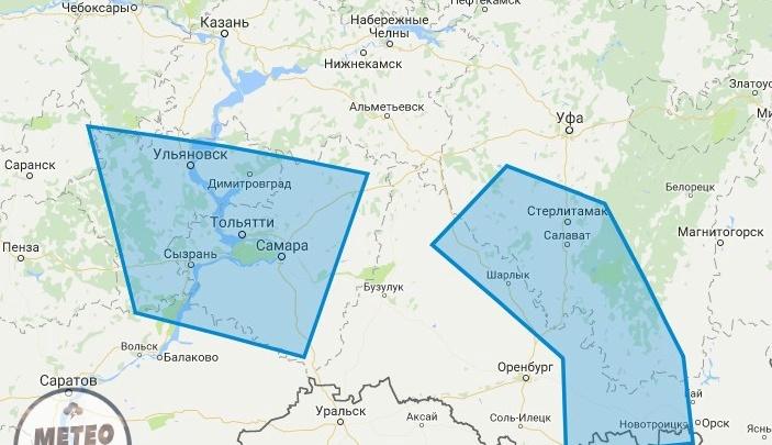 Крупный град и конвективный шквал: в Башкирии ожидают ухудшения погоды