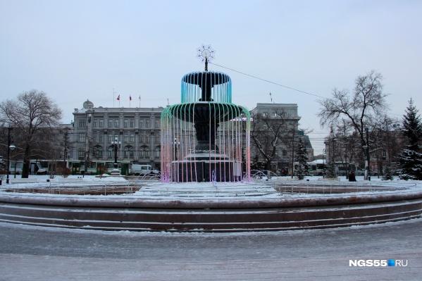 В субботу в Омске потеплеет до -10 градусов