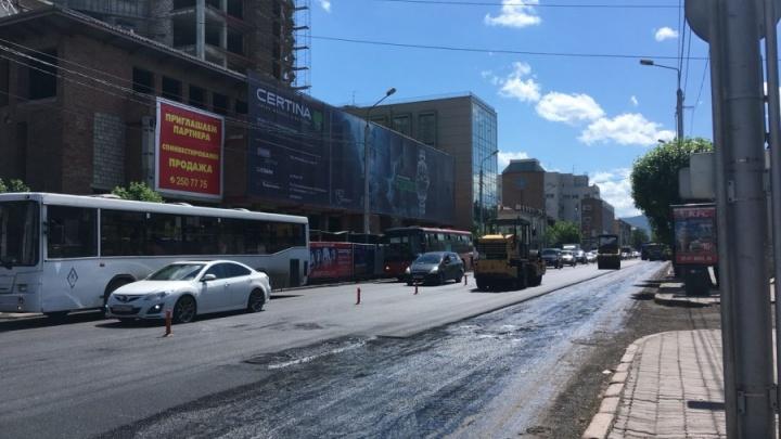 В Красноярске решено отремонтировать 13 опасных перекрестков
