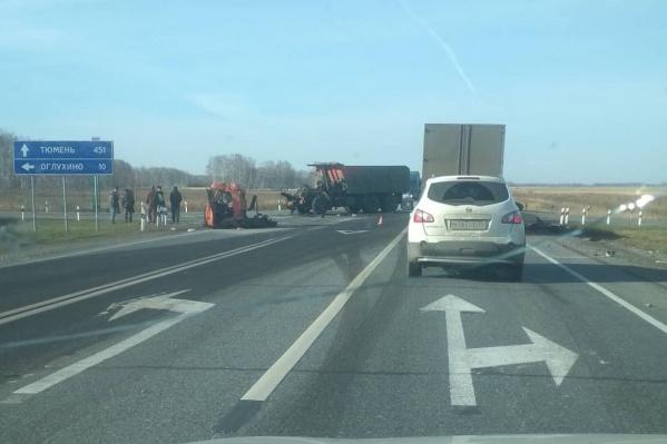 Авария произошла неподалеку от села Оглухино