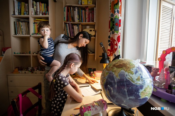 Дети Анны Филатовой не посещали ни детский сад, ни школу