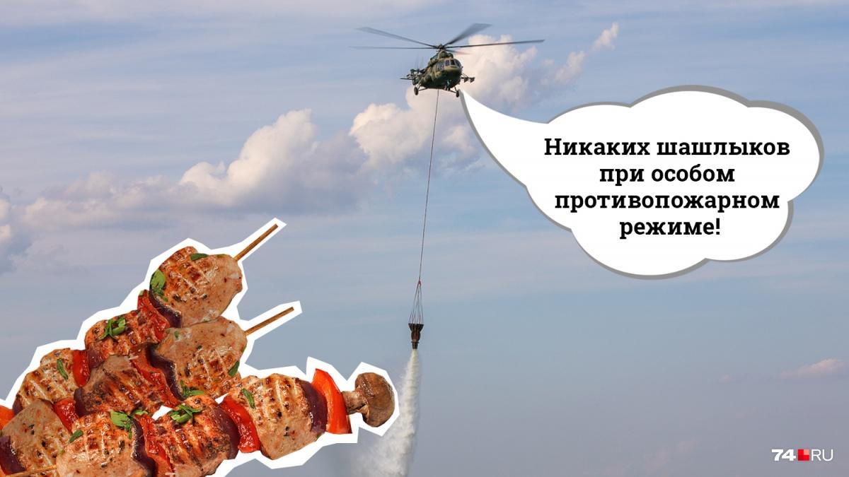 Шашлыки в «особый сезон» — деликатес для особенно рискованных, готовых заплатить за порцию крупную сумму