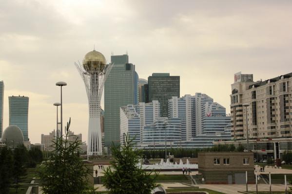 На фото пока еще Астана