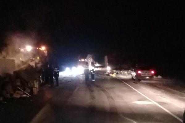 В аварии погиб водитель «Ниссана» и пассажир «Порше»