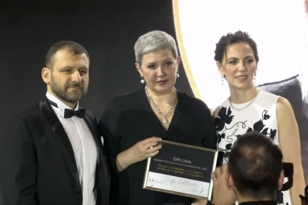 Ольга Зубкова являетсяпрезидентом ассоциации развития образования «Тетрадка Дружбы»