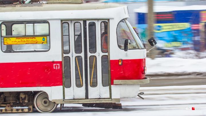 В Самаре водитель трамвая № 20 сбил ребенка у КРЦ «Звезда»