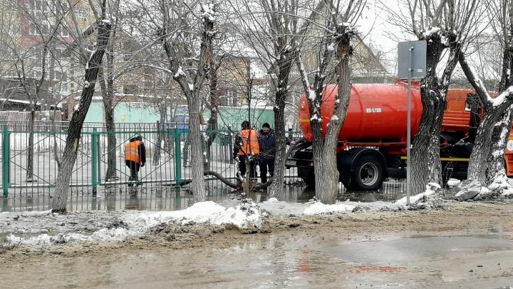 Два десятка домов на проспекте Мира останутся без воды