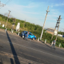 В Тольятти легковушка попала под поезд