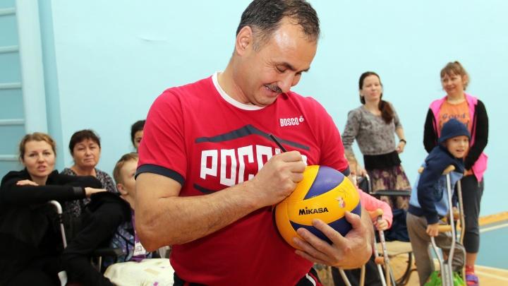 В центре Илизарова будут «лечить» игрой в волейбол сидя