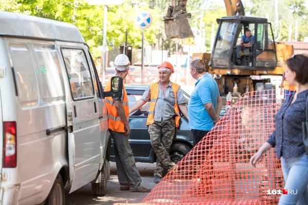 Движение перекроют из-за ремонта дорог