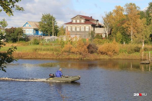 До конца XIX века река Заостровка выходила из берегов и затапливала окрестные деревни