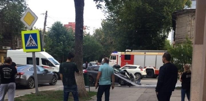 ДТП на Ленинской — Ярмарочной в Самаре осложнило движение в округе