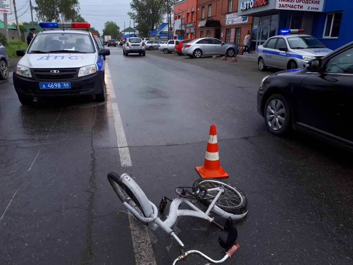 Авария с 12-летним велосипедистом произошла в Качканаре