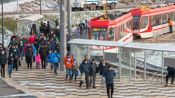В день матча «Крылья Советов» — «Уфа» для болельщиков запустят трамвай S5