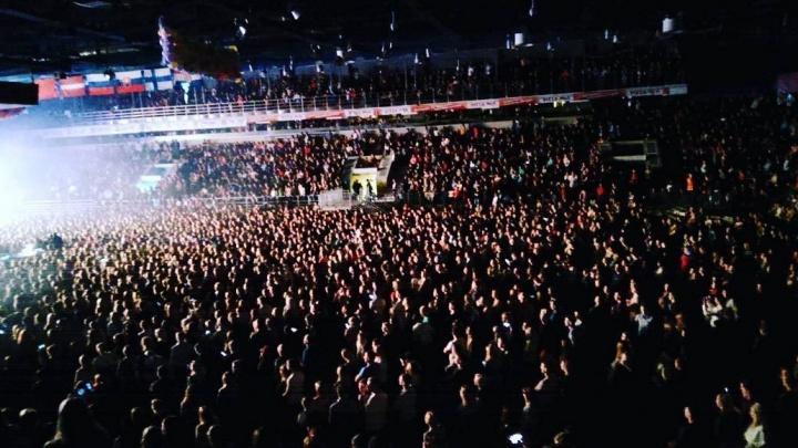 «7 тысяч сердец бились в унисон»: в КРК «Уралец» выступила легендарная группа «Руки вверх»