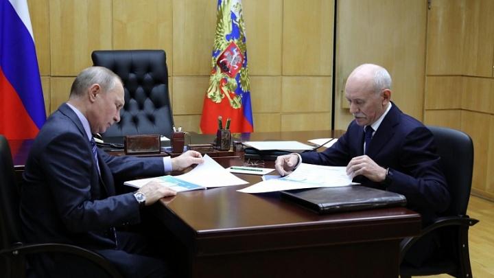 Рустэм Хамитов — Владимиру Путину: «Все поставленные задачи нами выполнены»