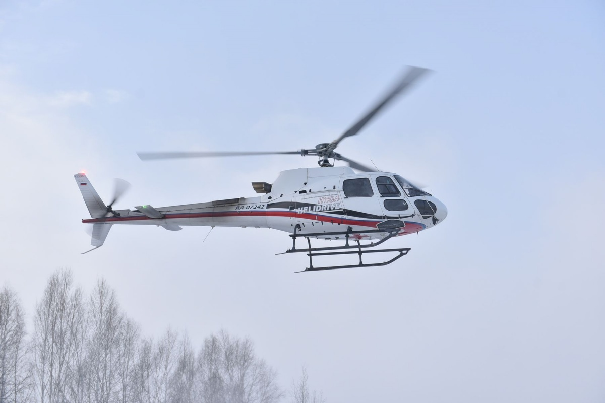 Вертолеты медицины катастроф могут приземлиться на трассе или даже  на площадке у магазина
