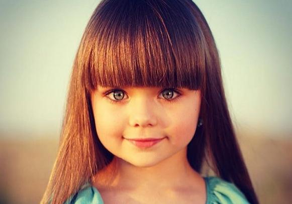 Daily Mail призналароссиянку самой красивой девочкой мира