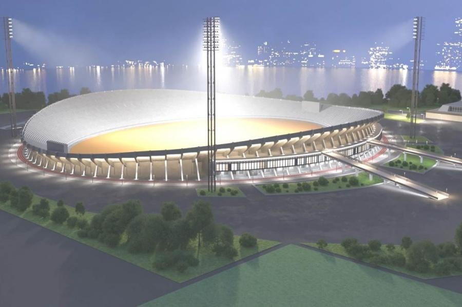 ВКрасноярске ищут подрядчика для реконструкции Центрального стадиона