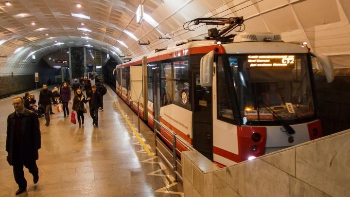 В волгоградских трамваях забыли предупредить об остановках на английском языке