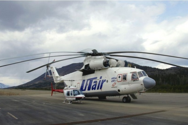 Вертолет«ЮТэйр» с 5 членами экипажа выполнял заказ одной из нефтяных компаний