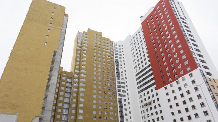 В рейтинг домов, которые пользовались спросом у горожан в 2018 году, ворвалась «красная» новостройка