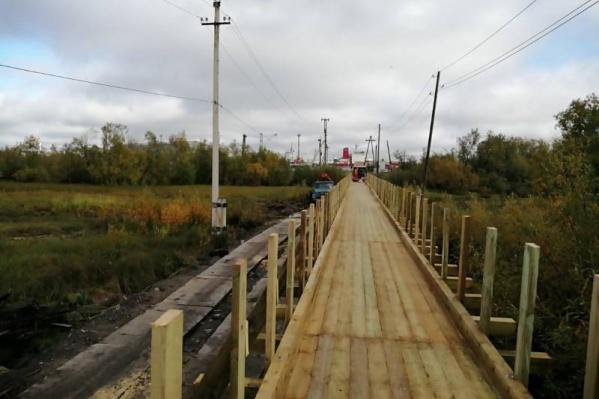 Еще несколько недель понадобится, чтобы завершить ремонт полностью, но для прохода мост откроют уже 7 сентября<br>