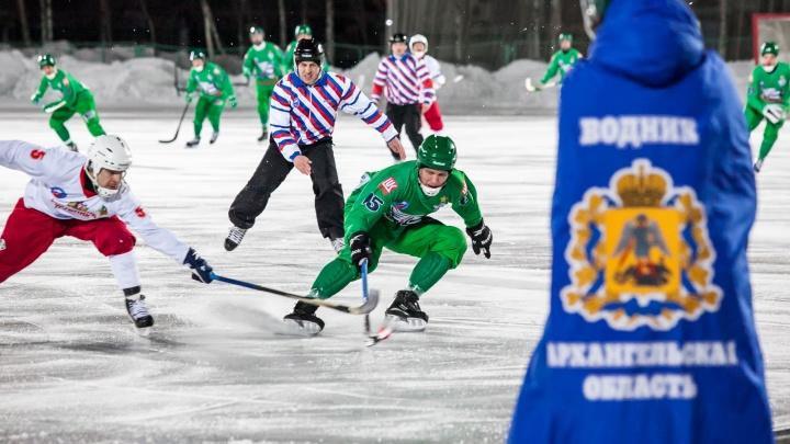 В свой юбилей «Водник» уступил красноярскому «Енисею» в чемпионате России по бенди