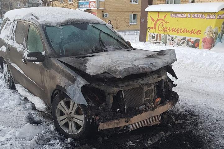 Mercedes GL Константина Акулича был не застрахован