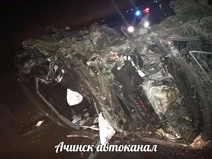 ВДТП под Ачинском пострадали 5  человек